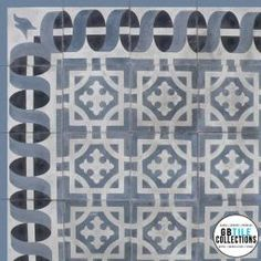 Encaustic Cement Tile - Santo Domingo