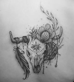 by Ann Gi /. Tattoo by Ann Gi /. skull taurus cactus tattoo desert cow, Tattoo by Ann Gi /. Cow Skull Tattoos, Cowgirl Tattoos, Cow Tattoo, Western Tattoos, Body Art Tattoos, Tattoo Drawings, Hand Tattoos, Sleeve Tattoos, Stomach Tattoos