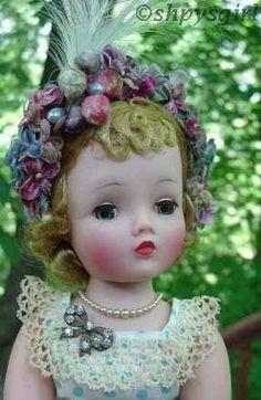 Madame Alexander Cissy doll 1950s doll jewelry hard plastic