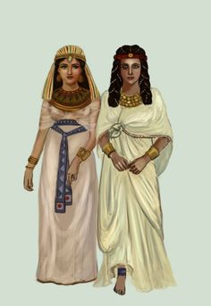 Traditional dress of Egypt, which is the legacy of ancient Kings and Queens is somehow continued by the Egyptian people with slight variations, no matter from whichever ethnicity they belong to.