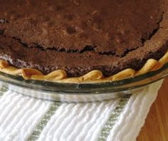 Gluten Free Chocolate Velvet Pie