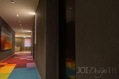 corridors at HKZ ©JOI-Design #hotelkompetenzzentrum