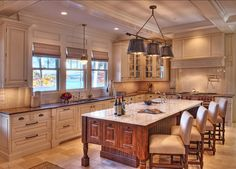 Off-White Kitchen Design Ideas. This Off-white Kitchen is incredible