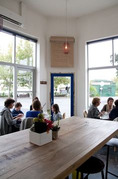 Melbourne, Australia... A Coin Laundry Turned Cafe : Remodelista