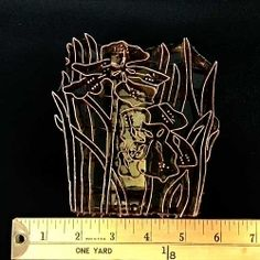 Iris Handmade Indonesian Copper Tjap at http://www.artisticartifacts.com