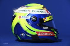 Felipe Massa 2013 - Side View - Image rights and ownership are of the Scuderia Ferrari F1 team and courtesy of F1 site F1 Fanatic.