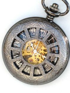We really need to start wearing pocket watches again.