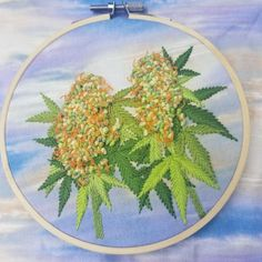 r/trees - Cannalope kush high in the sky 😁✌ Cannabis, Marijuana Art, Hand Embroidery Designs, Embroidery Ideas, Tree Quotes, Hemp Leaf, Weed Art, Cross Stitch Embroidery, Art Inspo