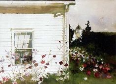 Andrew Wyeth, via Flickr. *** http://en.wikipedia.org/wiki/Andrew_Wyeth