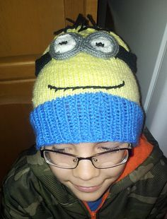 Ravelry: athena78's Minion Hat
