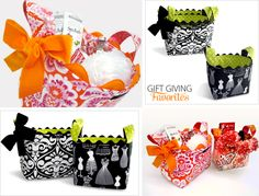 Free sewing pattern: Fabric Gift Baskets in Six Sizes and Styles Sewing Hacks, Sewing Tutorials, Sewing Patterns, Fabric Crafts, Sewing Crafts, Sewing Projects, Fun Arts And Crafts, Crafts To Make, Fabric Bins