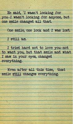 #love #quotes #smile