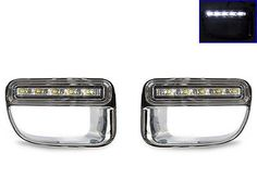 USA 2012-2014 Mini Cooper Countryman S R60 Bumper LED Daytime Running DRL Trim