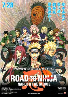 Naruto: Road To Ninja is my favorite movie of all time. It has an incredible plot filled with action, drama and emotion. It the most recent and currently the best Naruto movie (in my opinion). Naruto Uzumaki, Sasuke Sakura, Anime Naruto, Hinata, Manga Anime, Boruto, Shikamaru, Naruhina, Naruto Movie 6