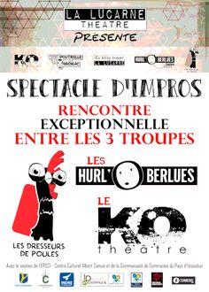 Spectacle d'impro, Issoudun, Boîte à Musique, Rue Georges Brassens, Mercredi 22 Juin 2016, 20h30