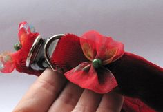 Velveteen Pet Collar by FastigesMadeWithLove on Etsy,