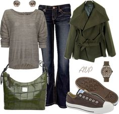 """The Closet Game Contest - Casual Crocodile"" by amy-phelps ❤ liked on Polyvore"