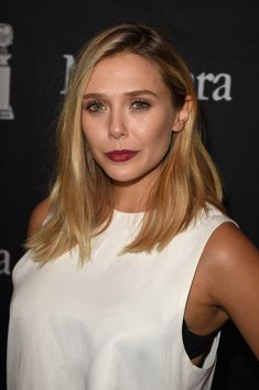 Actress Elizabeth Olsen attends the InStyle & HFPA party during the 2015 Toronto International Film Festival at the Windsor Arms Hotel on September 12, 2015 in Toronto, Canada.