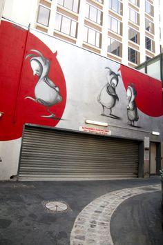 Date: Commissioned by City of Perth Street Wall Art, Street Art Graffiti, Outdoor Sculpture, Outdoor Art, Art Manifesto, Amazing Street Art, Building Art, Street Artists, Banksy