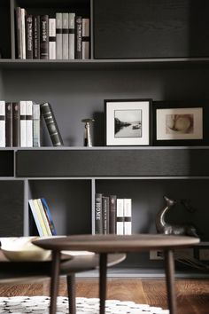 Brilliant Bookshelves Design Ideas For Your Living Room 42 Living Room Styles, Living Room Photos, Living Room Red, Living Room Designs, Living Room Decor, Shelving Design, Bookshelf Design, Styling Bookshelves, Bookcases