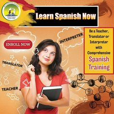 Be A Translator or Interpreter With Comprehensive Spanish Training Spanish Language Courses, Interview Training, Learning Spanish, How To Introduce Yourself, Vocabulary, Teacher, Words, Spanish Courses, Learn Spanish