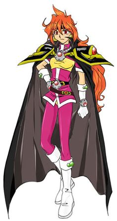 Lina Inverse from Slayers (anime)