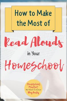Reading aloud in our homeschools shouldn't be an extra we fit in when our busy lives allow, but the central part of our homeschooling life.