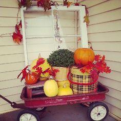 Wagon full of fall