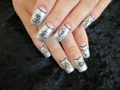 The Mortal Instrument Nail Decals