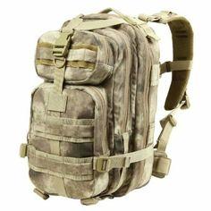 Amazon.com: Condor Compact Assault Pack (A-Tacs, 1362-Cubic Inch): Sports & Outdoors
