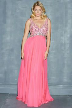 Estupendos vestidos de fiesta para gorditas   Moda 2014