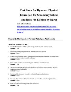 47 best test bank 2 images on pinterest download test bank for dynamic physical education for secondary school students 7th edition by darst fandeluxe Choice Image