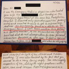 La carta de un médico tras la muerte de una paciente se convierte en fenómeno viral - Gaceta trotamundos