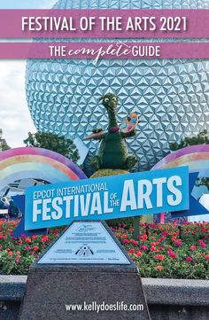 Epcot's Festival of the Arts is back for 2021! Check out the complete guide for all this amazing festival has to offer from performing arts to food booth menus.
