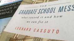 New books focus on reforming graduate education, managing the graduate school experience | InsideHigherEd