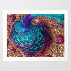 Shimmering Splendor Art Print   Kreative Minds Technology