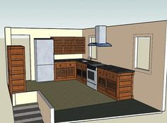 Home Architec Ideas Dirty Kitchen Design Floor Plan