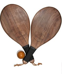 Artisanal Ping Pong Paddles. Why not? by Merriment Hardware