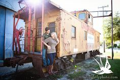 Lightly Photography by Sarah Rizy Grapevine Engagement Session Downtown Historic Train Depot 0015 Stephanie & Nick {Engaged} in Downtown Gra...
