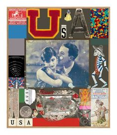 USA Series - Excelsior (Silkscreen with Diamond Dust Signed Limited Edition of by Peter Blake Art Prints For Sale, Art For Sale, Fine Art Prints, Childrens Alphabet, Iconic Album Covers, Printed Portfolio, Peter Blake, Pop Art Movement, Royal College Of Art