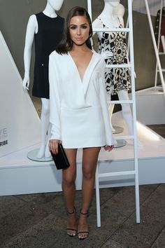 Olivia Culpo Photos - Olivia Culpo attends the StyleWatch x Revolve Fall Fashion Party on the The High Line on August 2015 in New York City. - Guests Attend the StyleWatch x Revolve Fall Fashion Party Look Fashion, Autumn Fashion, Fashion Outfits, Fashion Tips, Fashion Bloggers, Fashion Images, Ladies Fashion, Dress Fashion, Chic Outfits