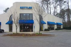 Let your business make a statement with a custom commercial awnings from A&A Awnings today!