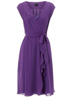 Cute purple dress...a similar but different style I like.