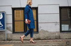 bolt of blue. Camille in Copenhagen. #CamilleOverTheRainbow