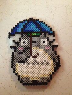 Totoro perler bead sprite by GDnCompany