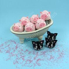 Lip Pot - Kitties & Piggies