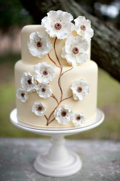 Reminds me of like an engagement party cake (: something I'd do....(: