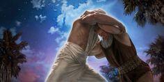 Jacob lutte avec un ange qui a pris l'apparence d'un homme