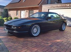 BMW 850 on Alpina wheels
