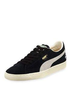 PUMA MEN S RUDOLF DASSLER CLYDE SUEDE LOW-TOP SNEAKER.  puma  shoes   cce22a46d344